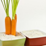 Dippen Sie sich schlank - mit Gemüse und Dipp